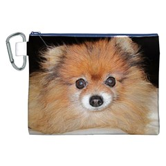 Pomeranian Canvas Cosmetic Bag (XXL)