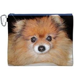 Pomeranian Canvas Cosmetic Bag (XXXL)