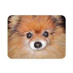 Pomeranian Double Sided Flano Blanket (Mini)