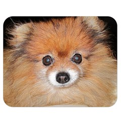 Pomeranian Double Sided Flano Blanket (Medium)