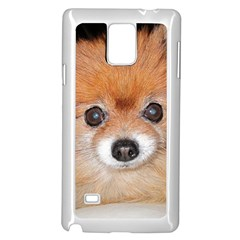 Pomeranian Samsung Galaxy Note 4 Case (White)