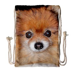 Pomeranian Drawstring Bag (Large)