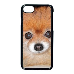 Pomeranian Apple iPhone 7 Seamless Case (Black)