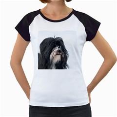 Tibet Terrier  Women s Cap Sleeve T