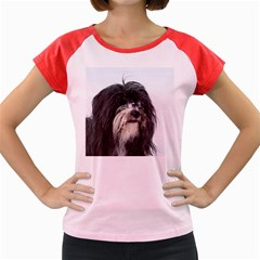 Tibet Terrier  Women s Cap Sleeve T-Shirt