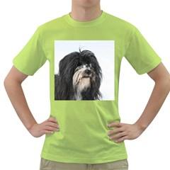 Tibet Terrier  Green T-Shirt