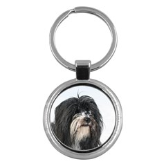 Tibet Terrier  Key Chains (Round)