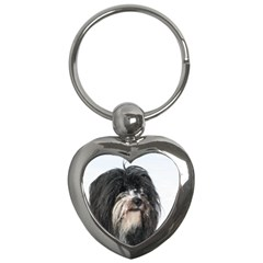 Tibet Terrier  Key Chains (Heart)