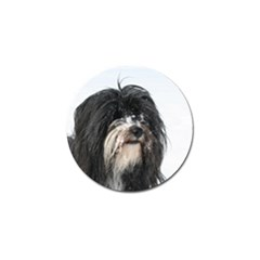 Tibet Terrier  Golf Ball Marker