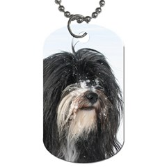 Tibet Terrier  Dog Tag (Two Sides)