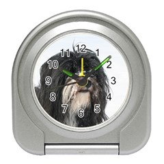 Tibet Terrier  Travel Alarm Clocks