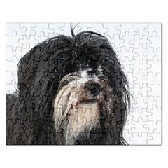 Tibet Terrier  Rectangular Jigsaw Puzzl