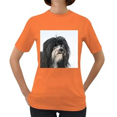 Tibet Terrier  Women s Dark T-Shirt