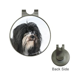 Tibet Terrier  Hat Clips with Golf Markers