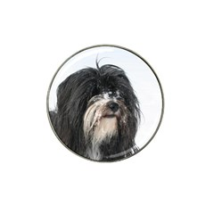 Tibet Terrier  Hat Clip Ball Marker