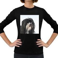Tibet Terrier  Women s Long Sleeve Dark T-Shirts