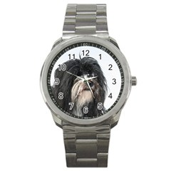 Tibet Terrier  Sport Metal Watch