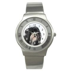 Tibet Terrier  Stainless Steel Watch