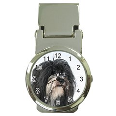 Tibet Terrier  Money Clip Watches