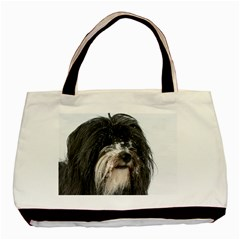 Tibet Terrier  Basic Tote Bag (Two Sides)