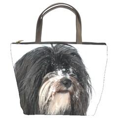 Tibet Terrier  Bucket Bags
