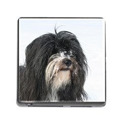 Tibet Terrier  Memory Card Reader (Square)