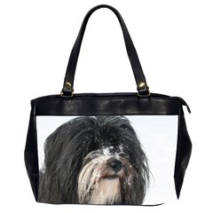 Tibet Terrier  Office Handbags (2 Sides)