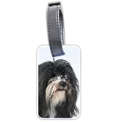 Tibet Terrier  Luggage Tags (One Side)