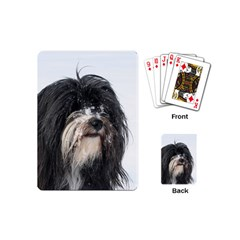 Tibet Terrier  Playing Cards (Mini)