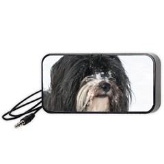 Tibet Terrier  Portable Speaker (Black)