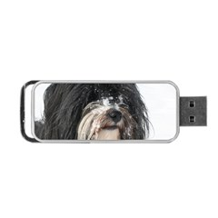 Tibet Terrier  Portable USB Flash (One Side)