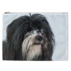 Tibet Terrier  Cosmetic Bag (XXL)