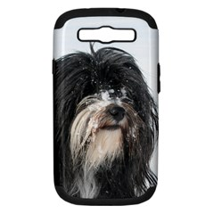 Tibet Terrier  Samsung Galaxy S III Hardshell Case (PC+Silicone)
