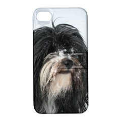 Tibet Terrier  Apple iPhone 4/4S Hardshell Case with Stand