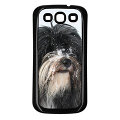 Tibet Terrier  Samsung Galaxy S3 Back Case (Black)
