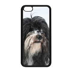 Tibet Terrier  Apple iPhone 5C Seamless Case (Black)