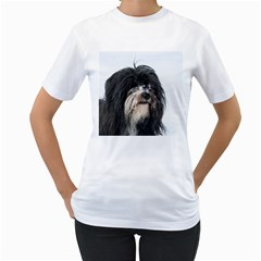 Tibet Terrier  Women s T-Shirt (White)