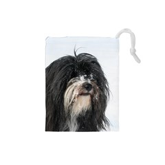 Tibet Terrier  Drawstring Pouches (Small)