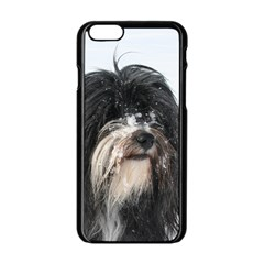 Tibet Terrier  Apple iPhone 6/6S Black Enamel Case