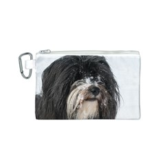 Tibet Terrier  Canvas Cosmetic Bag (S)