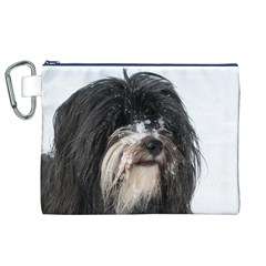 Tibet Terrier  Canvas Cosmetic Bag (XL)