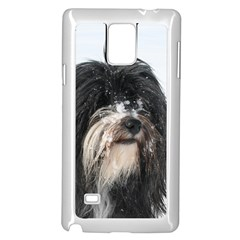 Tibet Terrier  Samsung Galaxy Note 4 Case (White)