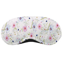 Floral Pattern Background Sleeping Masks