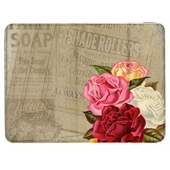 Flower Floral Bouquet Background Samsung Galaxy Tab 7  P1000 Flip Case