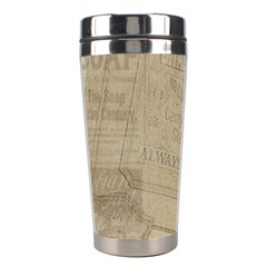Flower Floral Bouquet Background Stainless Steel Travel Tumblers