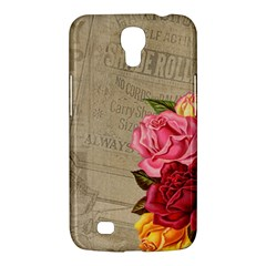 Flower Floral Bouquet Background Samsung Galaxy Mega 6.3  I9200 Hardshell Case