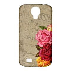 Flower Floral Bouquet Background Samsung Galaxy S4 Classic Hardshell Case (PC+Silicone)