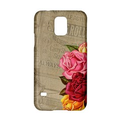 Flower Floral Bouquet Background Samsung Galaxy S5 Hardshell Case