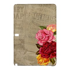 Flower Floral Bouquet Background Samsung Galaxy Tab Pro 12.2 Hardshell Case