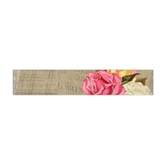 Flower Floral Bouquet Background Flano Scarf (Mini)